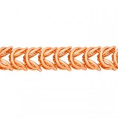 Браслет, плетение Бриз, 6 мм
